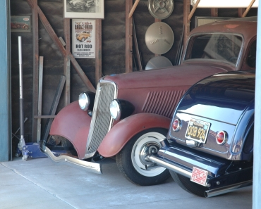 Pat Ganahl's garage