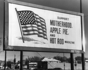 Hot Rod Magazine billboard