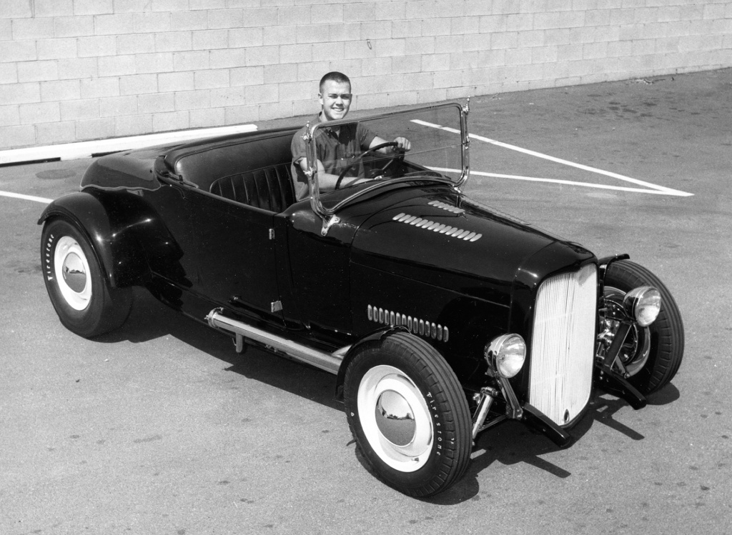 Paul Chamberlain Model A roadster