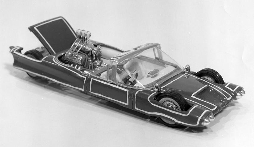 Vintage model car