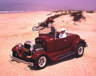 Hot rod dune buggy